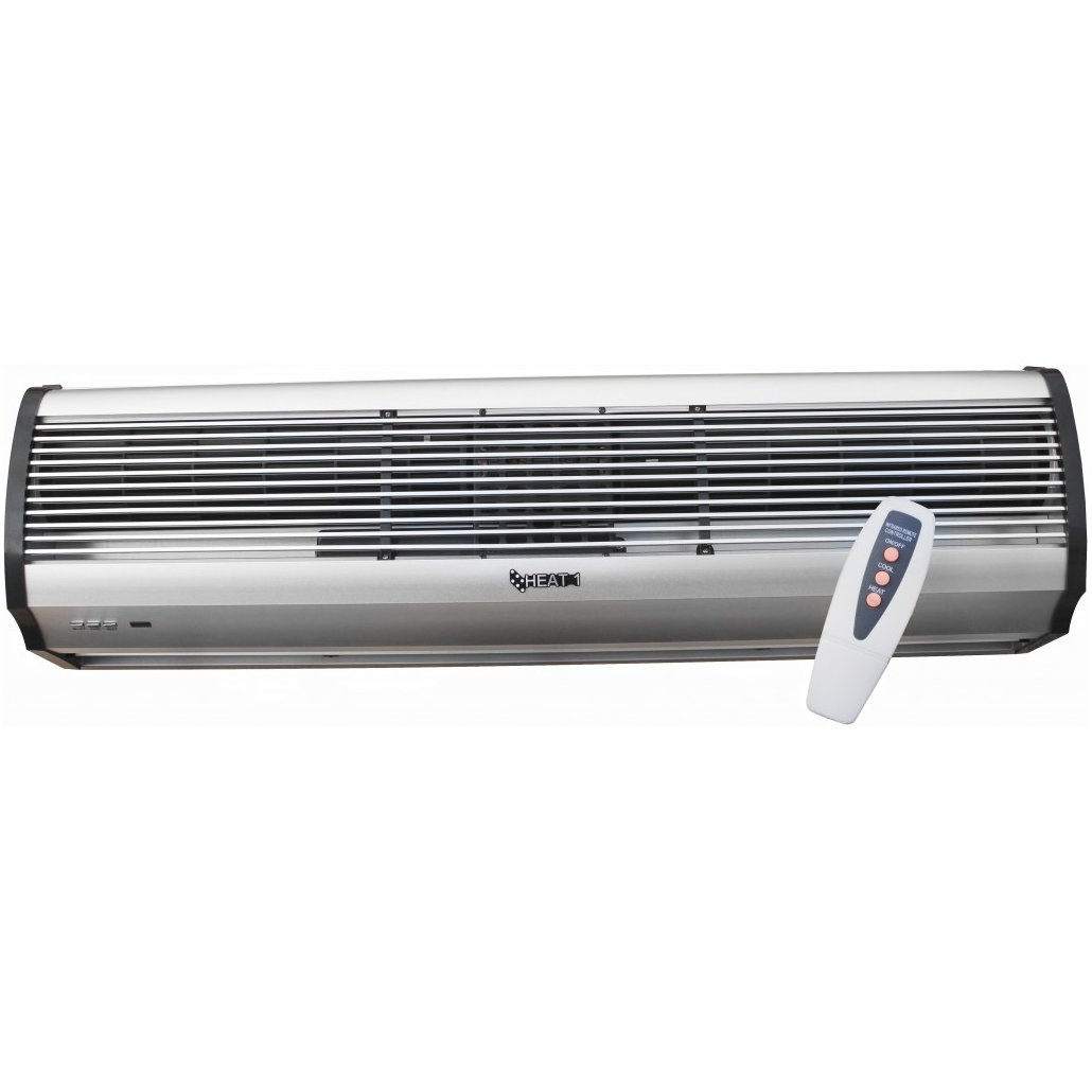 Electric Air Curtain Heaters Chameleon The Architectural: Electric Air Curtain HEAT1 HEAT1-E-120-1PH